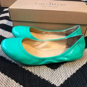 Cole Haan Patent Leather Ballet Flats (US 6.5)